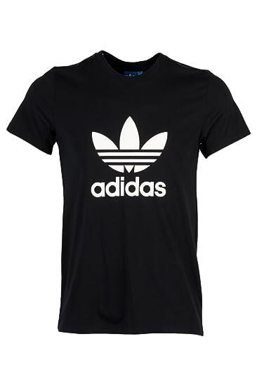 adidas t shirt männer schwarz