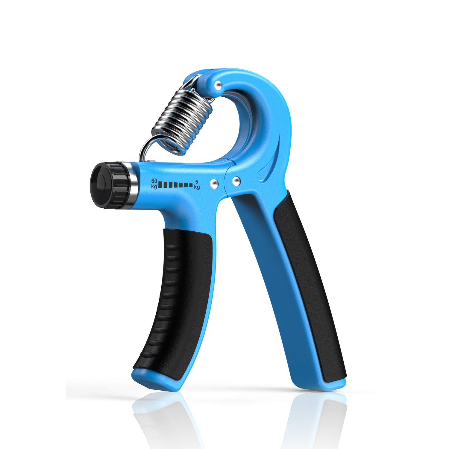 Longang Hand Grip Strengthener with Adjustable Resistance 11-132 Lbs 5-60kg , Wrist Strengthener 1 PC