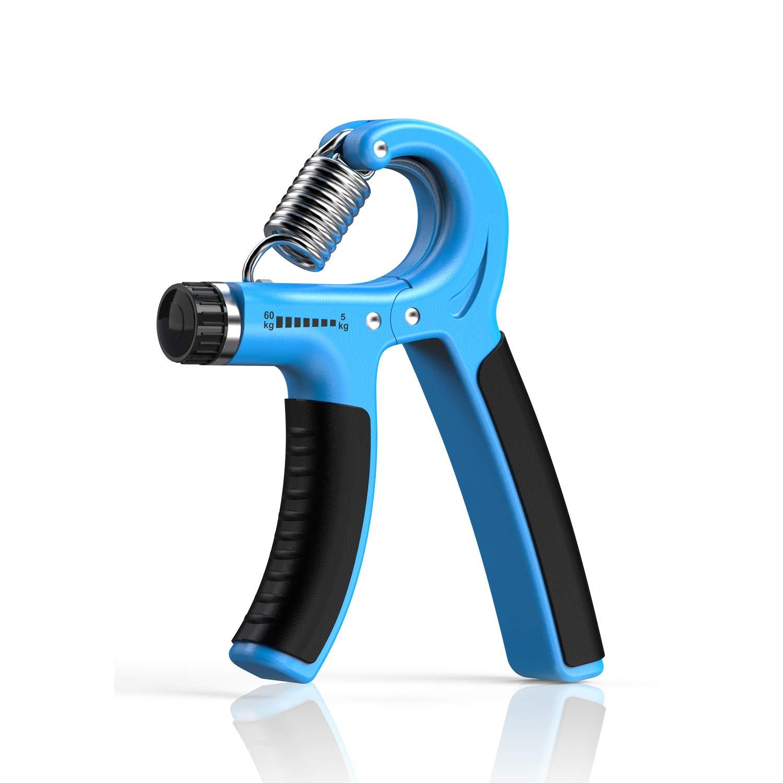Longang Hand Grip Strengthener with Adjustable Resistance 11-132 Lbs (5-60kg), Wrist Strengthener