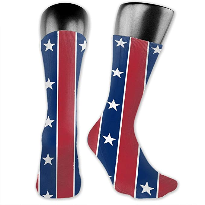 d3a222f571505 American Flag Unisex The-Calf Socks Crew Socks Funny Sock at Amazon ...