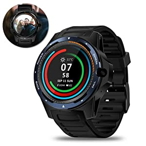 BYBYC Reloj inteligente, reloj Con pantalla táctil Smartwatch, reloj inteligente a prueba de agua Sports Fitness Tracker reloj para teléfono Android Compatible