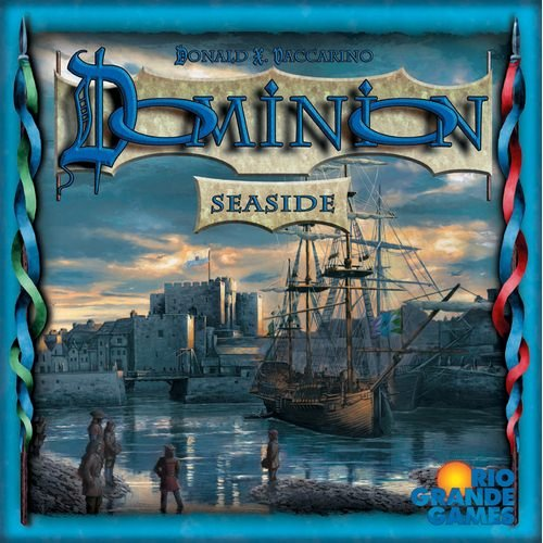 [해외]리오 그란데 게임 자치령: 해변 확장 / Rio Grande Games Dominion: Seaside Expansion