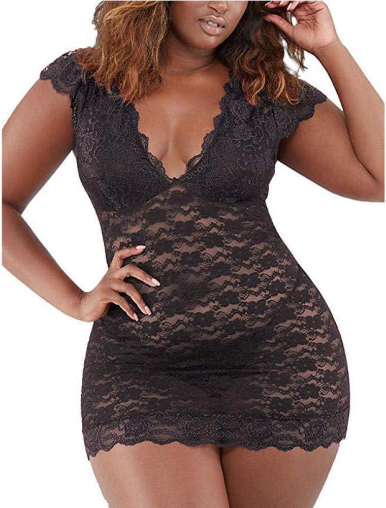 lenceria de cuero sexyLencería de encaje sexy body erótico elegante cuerpo sexy lencería erótica caliente pijama vestido de mujer ropa sexual Black_XXL