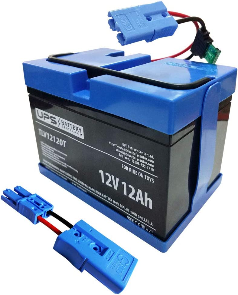 Battery by UPSBatteryCenter KT1226TR Compatible with 12 Volt Kid Trax 12V Disney Mickey Mouse Coupe