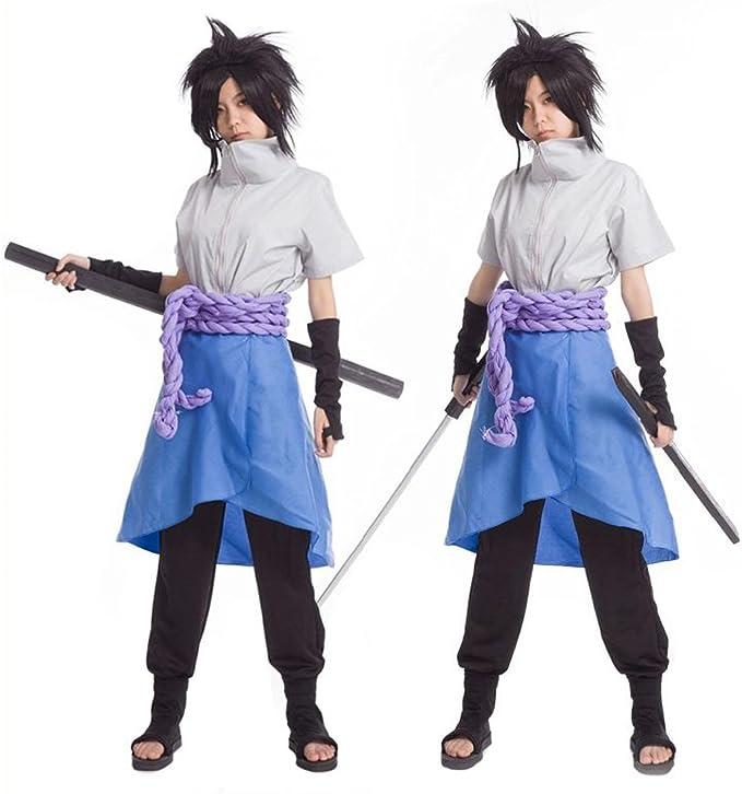 DAOKAI Ziyanshop Disfraz Naruto – Chaqueta Adulto Sasuke Uchiha ...