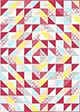 quilting fabric kits - Connecting Threads Half-Square Triangle Fun Neighbors Quilt Kit