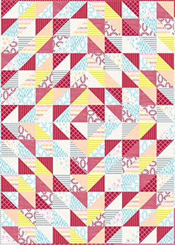 Connecting Threads Half-Square Triangle Fun Neighbors Quilt Kit