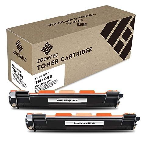 ZOOMTEC Compatible TN1050 Cartucho de tóner Reemplazo Usado en ...