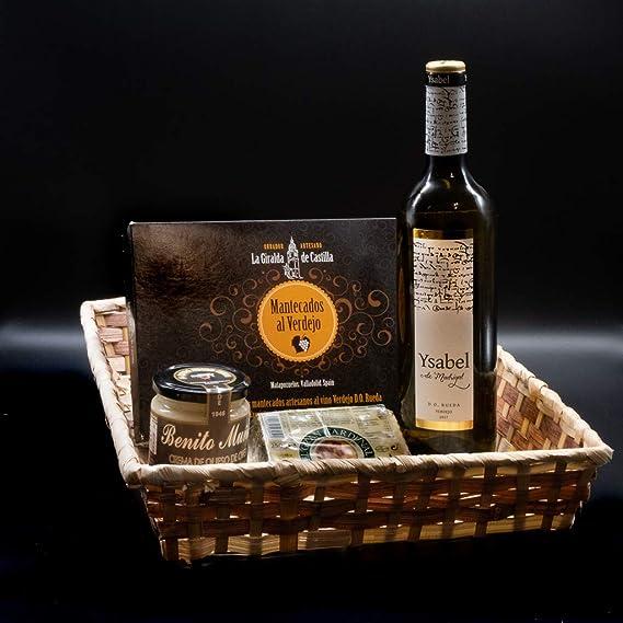 amazon vinos y queso regalo