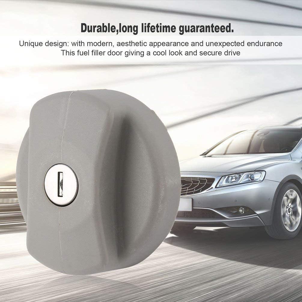 Nero Automobili auto stile di alta qualit/à Parti esterne Riempimento Tappo serbatoio carburante Tappo benzina per Vauxhall Opel Coperchio serbatoio carburante