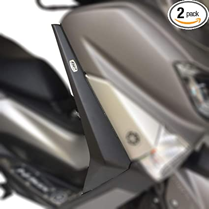 Amazon com: Wind Deflectors Legs (Black) for Yamaha NMax 125