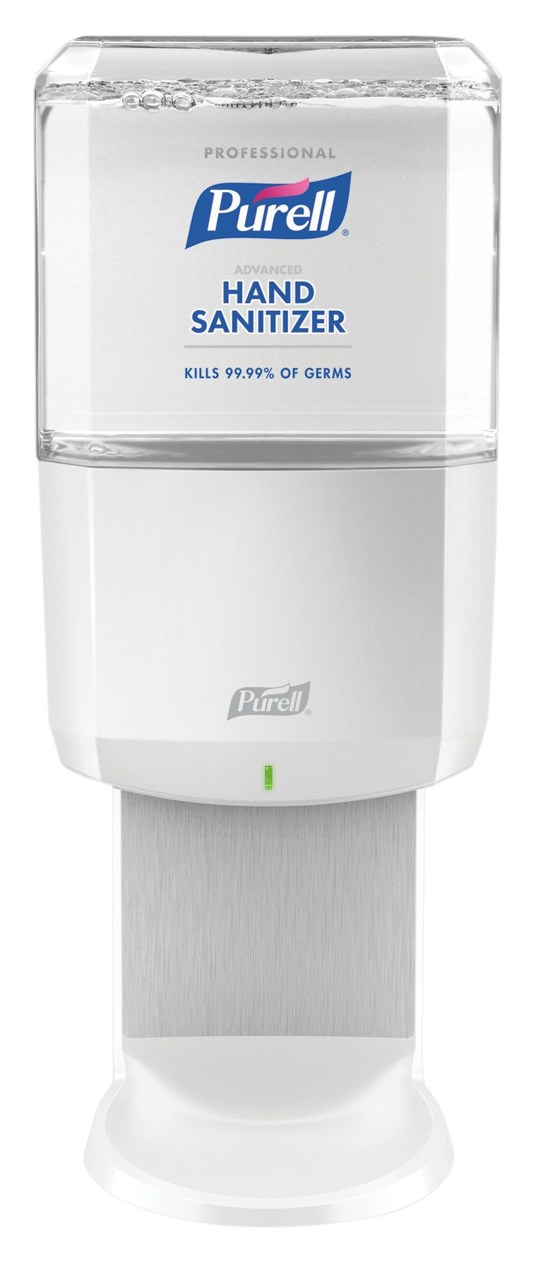 PURELL Professional Advanced Hand Sanitizer Foam ES6 Starter Kit, 1- 1200 mL Sanitizer Refill + 1 - ES6 White Touch-Free Dispenser - 6454-1W by Purell