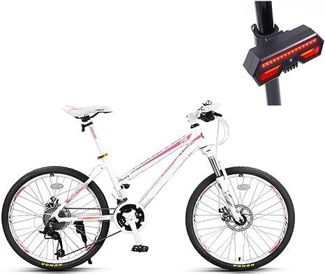 Bicicleta, Bicicleta De Montaña, 24 Pulgadas De 27 De Velocidad De ...