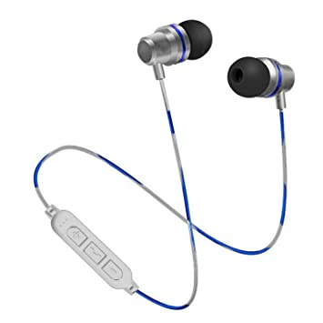 Numva - Auriculares Bluetooth con micrófono (Ranura para ...