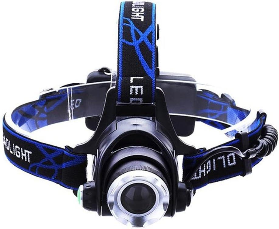 LED Headlamp Head Lamp CREE T6 LED Chip 2000lm zoombar Head Light Night Fishing