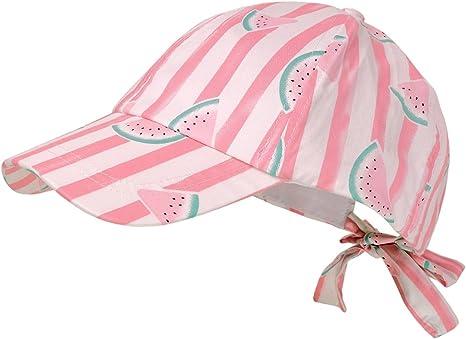 maximo Cap, Gorra para Niñas, (Flamingo - Wassermelone 43) 55 ...