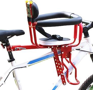 Ljdgr Accesorios para Bicicletas Asiento de Bicicleta para bebé Bicicletas Asientos para niños Sillas Delanteras Asientos de Seguridad (Color : Color 2): Amazon.es: Deportes y aire libre