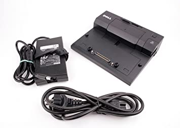 Dell Docking Station PR03X USB 3.0 E-Port II Replicator for Latitude AC Adapter