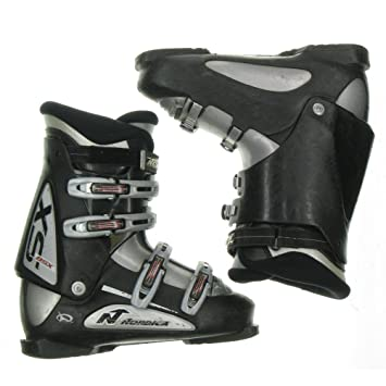 Amazon Com Used Ski Boots >> Used Nordica Bsx Black Ski Boots Men S Size 8 5 Mondo 26 5