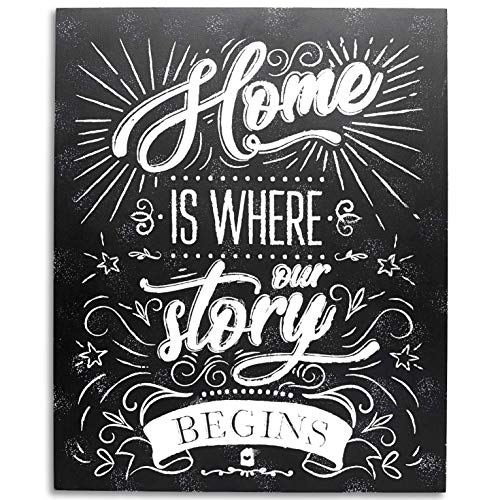 Housewarming Plaque (Kenley Home Decor Wall Sign - Housewarming Decorations or Welcome Gift for New Family House - 11