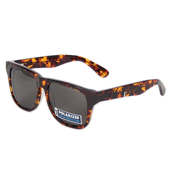 Neff QNF0305 QNF0305 Gafas de sol, Wayfarer, Polarizadas, 53, Tortoise