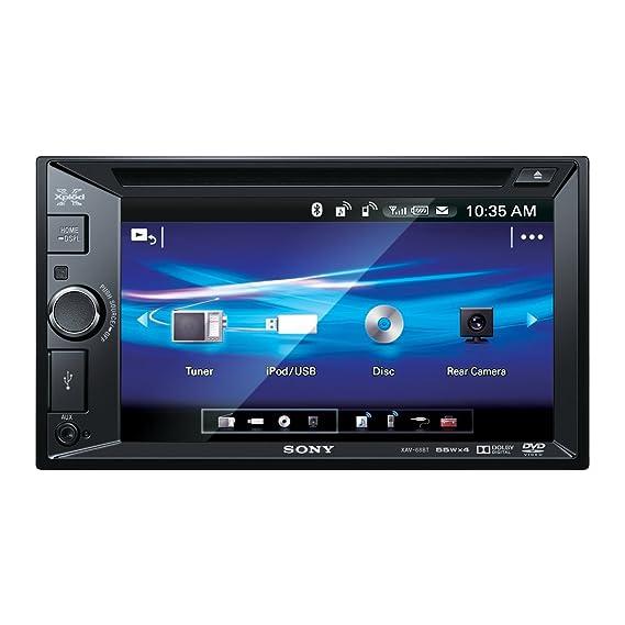 Sony XAV68BT 2DIN Moniceiver (15,7 cm (6,2 Zoll) Display, CD-Player ...