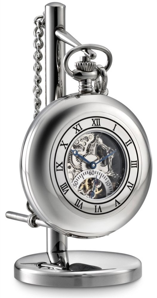 Dalvey Skeletal Pocket Watch and Stand by Dalvey