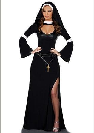 Ladies Mother Superior Nun Religious Plus Size Fancy Dress Costume