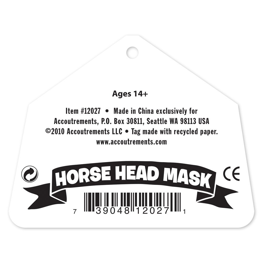 amazon com accoutrements horse head mask toys u0026 games