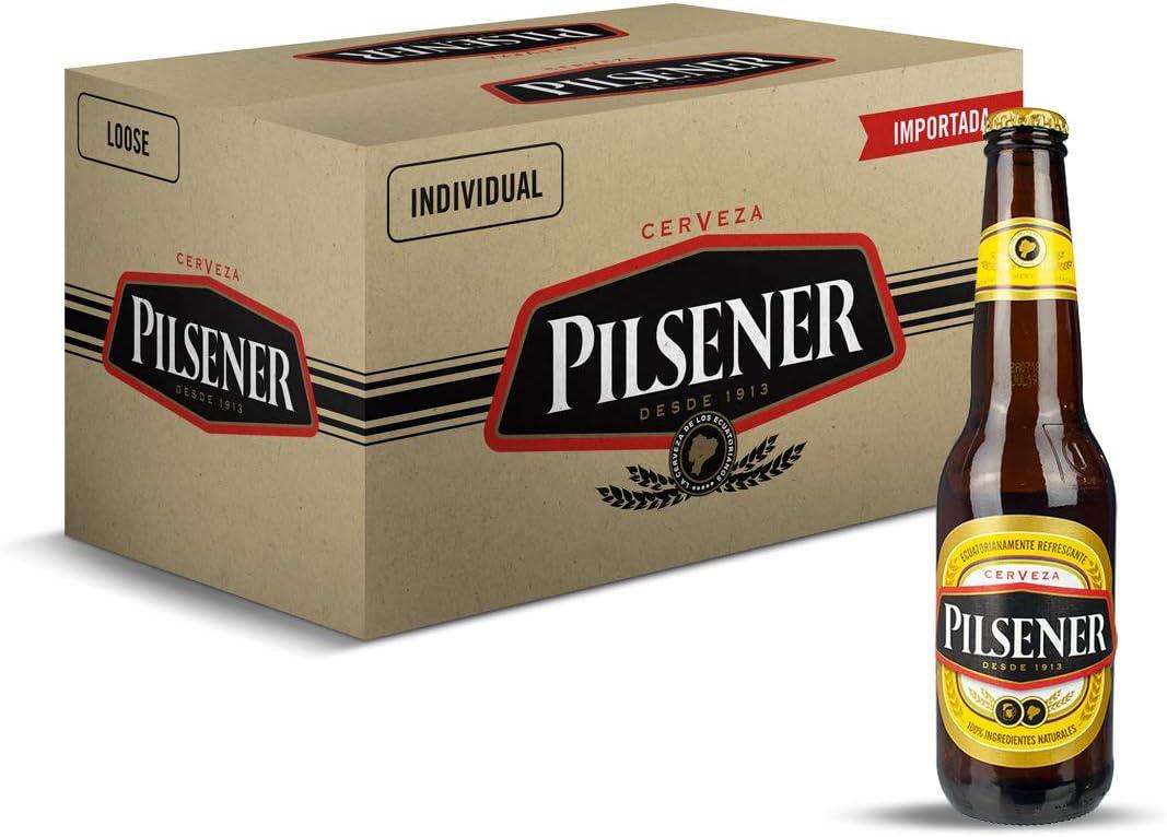 Cerveza Pilsener - caja de 24 botellas x 33cl: Amazon.es: Alimentación y bebidas