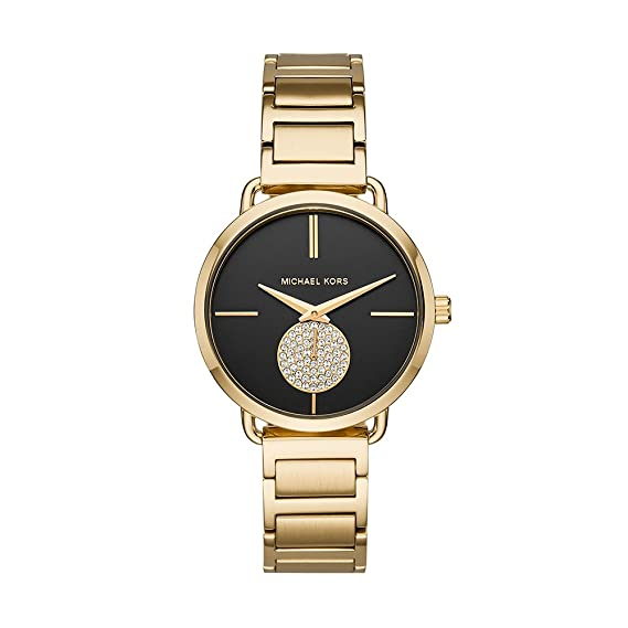 9c6ca7bb7d93 Buy Michael Kors Analog Black Dial Women s Watch-MK3788 Online at Low  Prices in India - Amazon.in