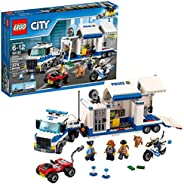 LEGO City Police Mobile Command Center Building Set
