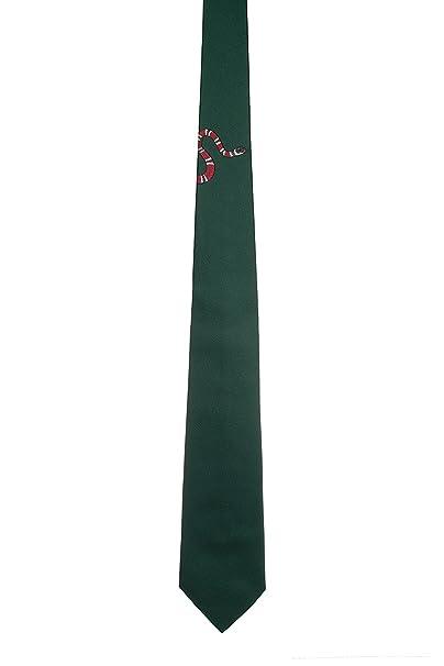 Gucci Hombre 4521714E0023000 Verde Seda Corbata: Amazon.es: Ropa y ...