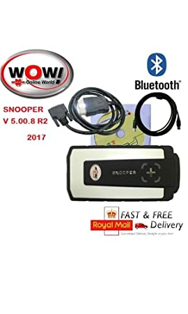 WOW 2017 Snooper V5 00 8 R2 Bluetooth Diagnostic Tool for Cars and Trucks