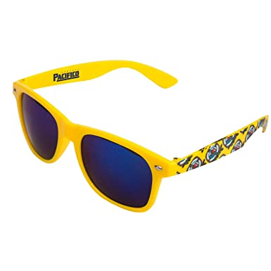 Amazon.com: Pacifico lentes de espejo anteojos de sol: Clothing