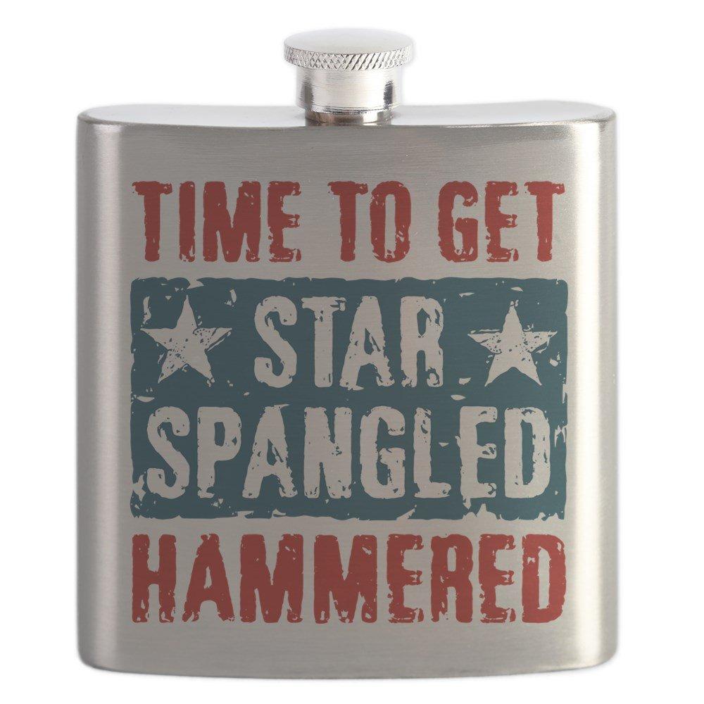 【2018秋冬新作】 CafePress – – Hammered Star Spangled Hammered Star – ステンレススチールフラスコ、6オンスDrinkingフラスコ B01IUFJDEK, ブランハート:7fb9ae5e --- school.officeporto.com