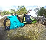 """DolfinPack Lightweight, Form-fitting, Waterproof, Extreme Sports Hydration Pack 17 Awards: Winner of the hydration anywhere """"best running hydration pack"""".  Featured in SUP magazine as a top hydration pack of 2015. Lightweight, minimalistic hydration pack for extreme sports and on the go hydration. Perfect for marathons, stand-up Paddle boarding, biking, surfing, hunting, snowboarding, skiing & other extreme sports."""
