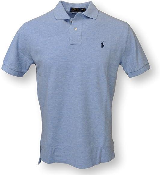 Polo Ralph Lauren Mens Classic Fit Mesh Pony Shirt: Amazon.es ...