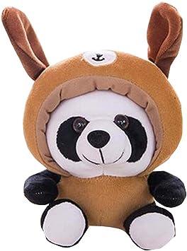 Black Temptation Panda Conejo Suave algodón niños Juguete de ...