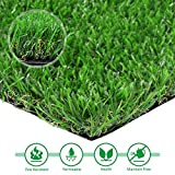 Artificial lawn 8' x 12' Synthetic Turf Fake Grass Indoor Outdoor Landscape Pet Dog Area