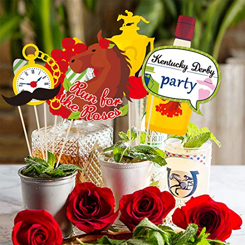 Kentucky Derby Party Supplies Horses Race Party Photo Booth Props