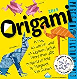 Origami Color Page-A-Day Desk Calendar 2019 [6'' x 6'' Inches]