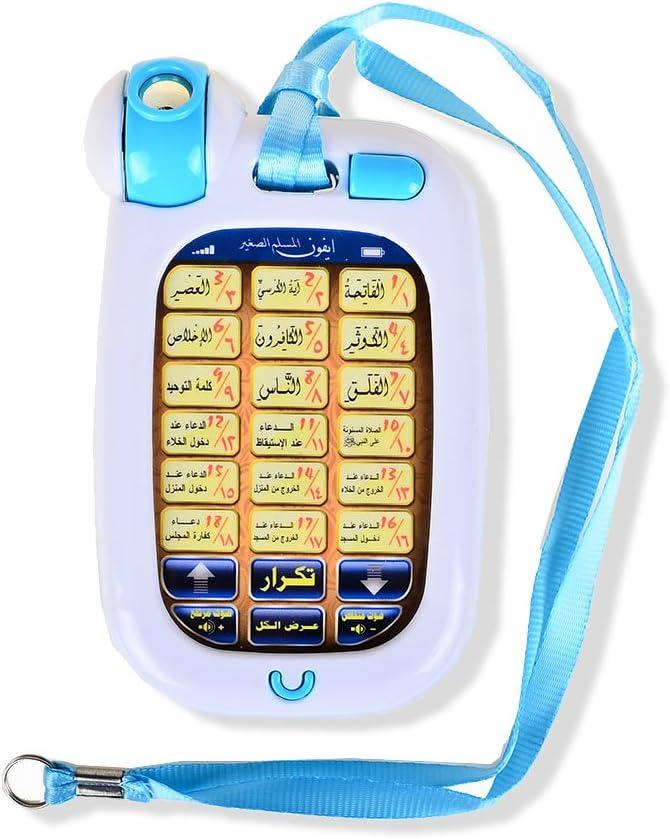 Kids Children Islamic Arabic Story Tablet Pad Learning Toy Teach Alphabet Gift
