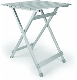 Camco 51891 Aluminum Fold Away Side Table   Large
