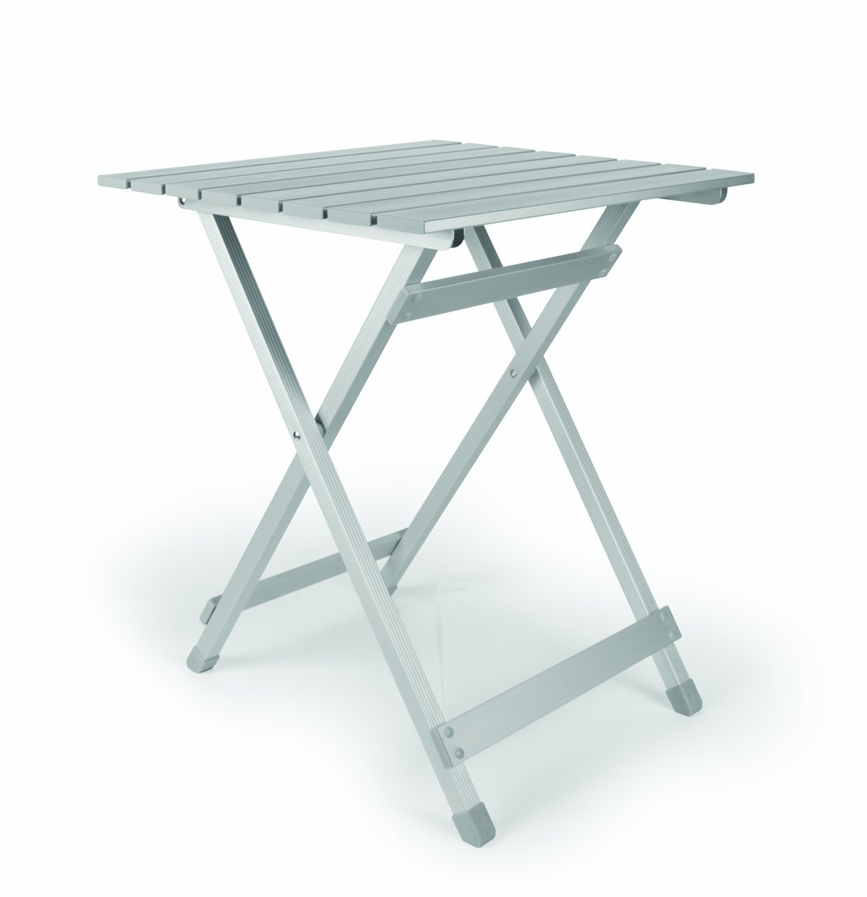 Camco 51891 Aluminum Fold-Away Side Table - Large by Camco