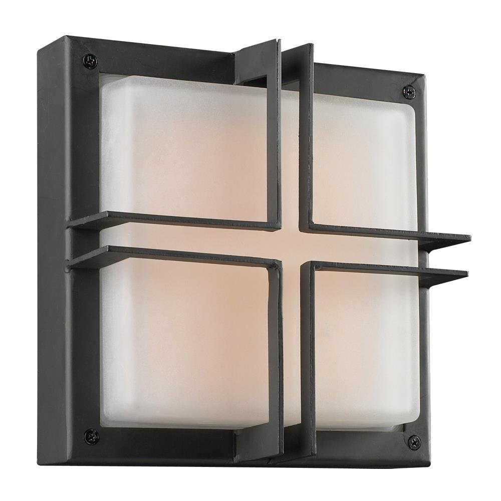 PLC Lighting 8026 BZ Piccolo Collection 1 Light Outdoor Fixture