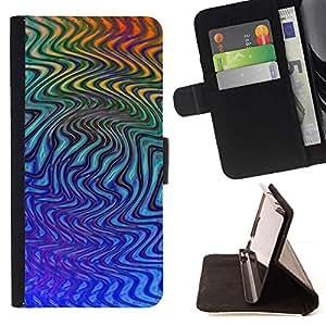 Momo Phone Case / Flip Funda de Cuero Case Cover - Abstractas Líneas - Sony Xperia Z1 L39