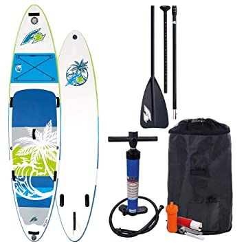 Desconocido F2 Sup Aloha Green 10,5 2018 Stand Up Paddle Board Inflable Remo