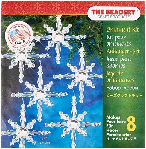 Beadery BOK-7281 Holiday Beaded Ornament Kit, North -