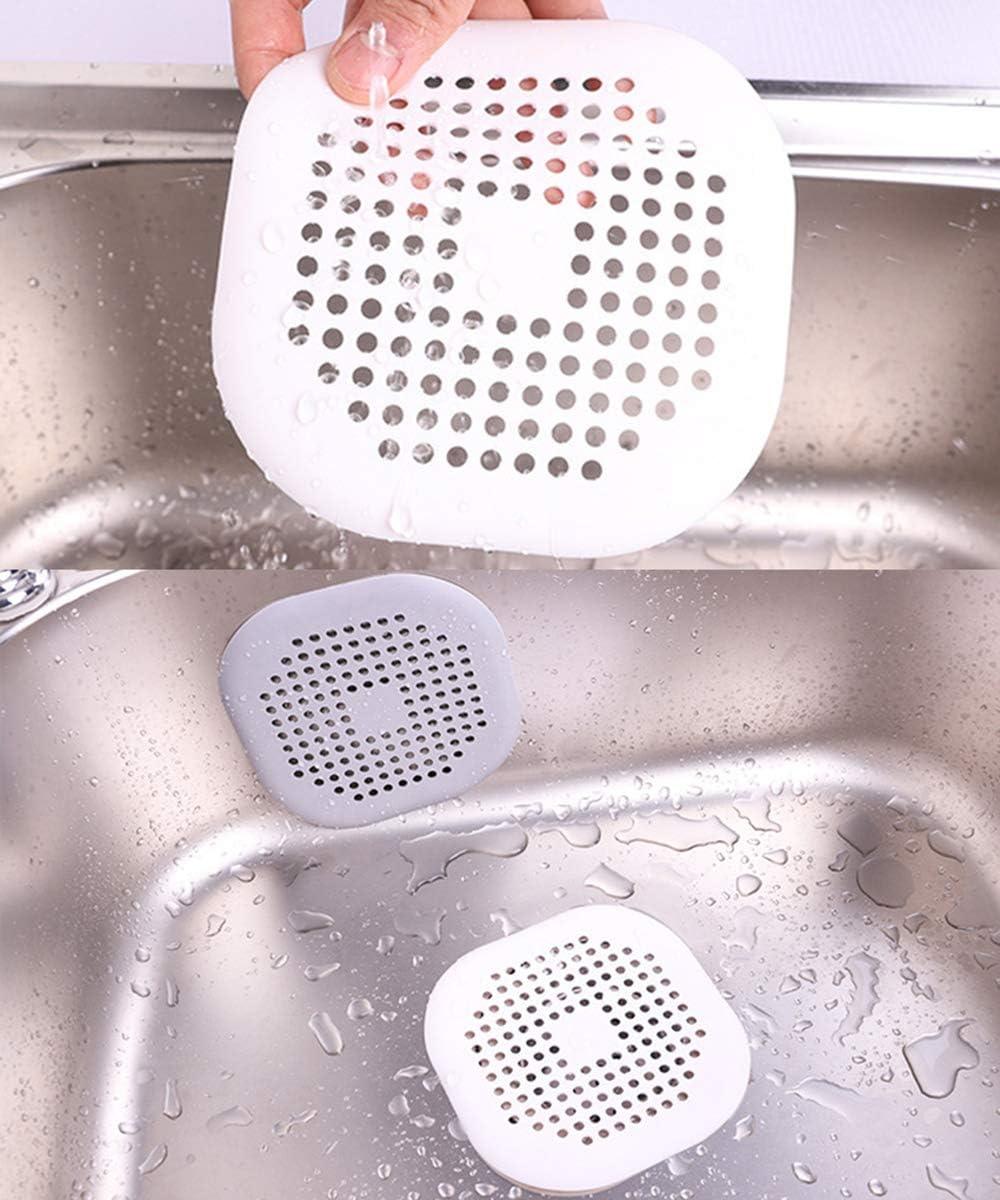weifengji Lot de 2 filtres pour /évier de Salle de Bain Filtre pour /évier de Cuisine en Silicone color/é